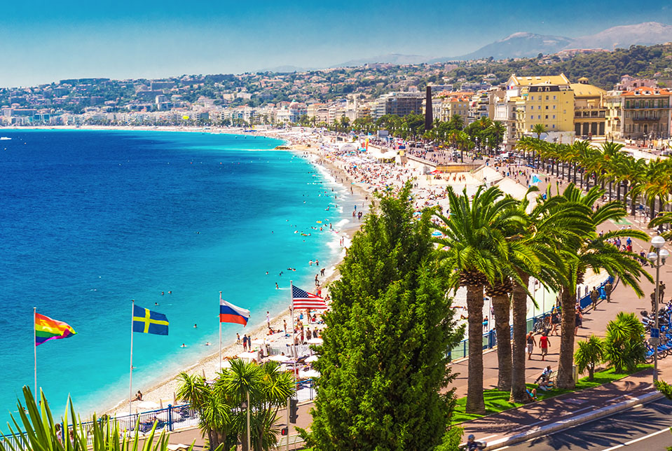 Beach Promenade French Riviera