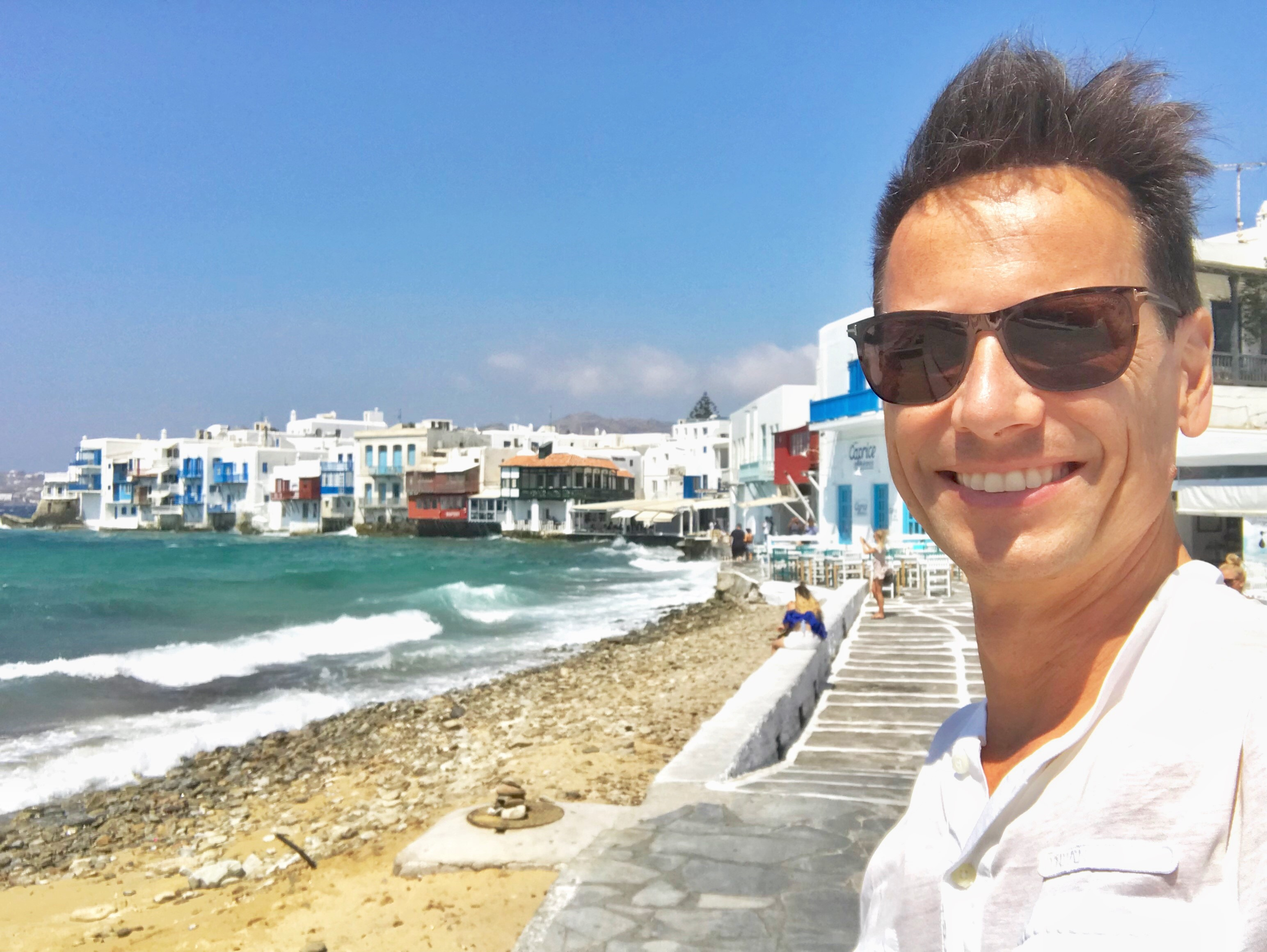 Christian in Mykonos